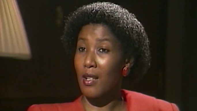 Canada AM interviews Maki Mandela on May 24, 1987