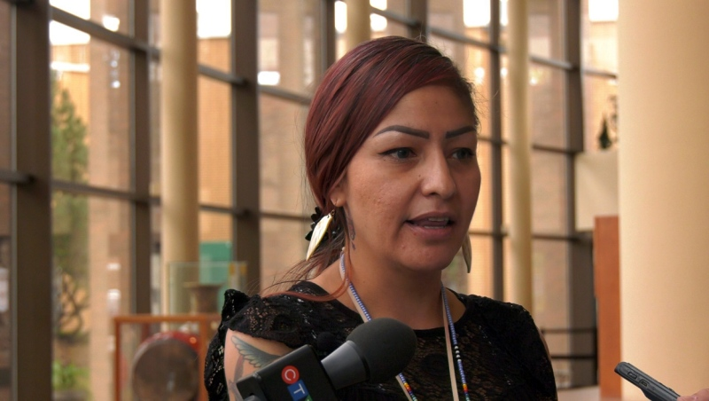Marissa Smoke said having a monument to honour missing and murdered Indigenous women and girls would help to acknowledge the issue