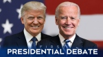 Trump, Biden debate