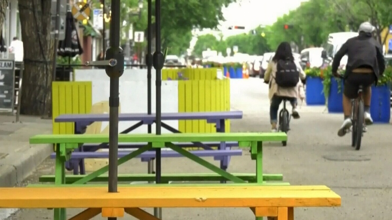 Whyte Ave could become more pedestrian friendly