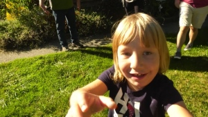 Little girl facing big challenges