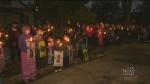 Vigil honours mom who died in crash