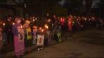 A vigil was held for Jennifer Dethmers on Sept. 29.