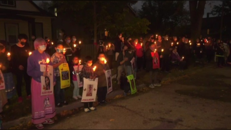 A vigil was held for Jennifer Dethmers on Sept. 29.