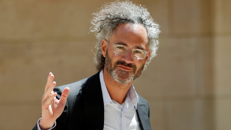 Palantir CEO Alex Karp in Paris, on May 15, 2019. (Thibault Camus / AP)