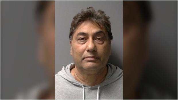 Sukhbinder 'Sunny' Saini is facing charges after he allegedly sexually assaulted a student of his unlicensed driving school in Brampton. (Peel Regional Police)