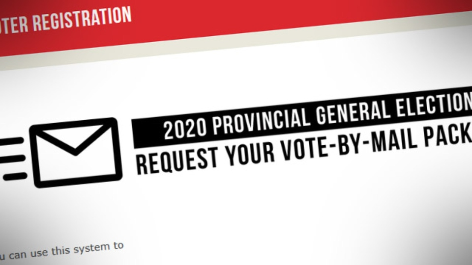 Request mail package. (Elections BC)