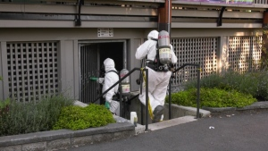 A hazmat team was called to Stanley Park on Sept. 29, 2020, after mercury was found in a washroom.