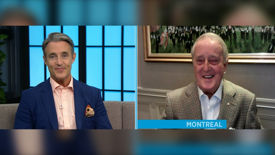 Ben and Brian Mulroney