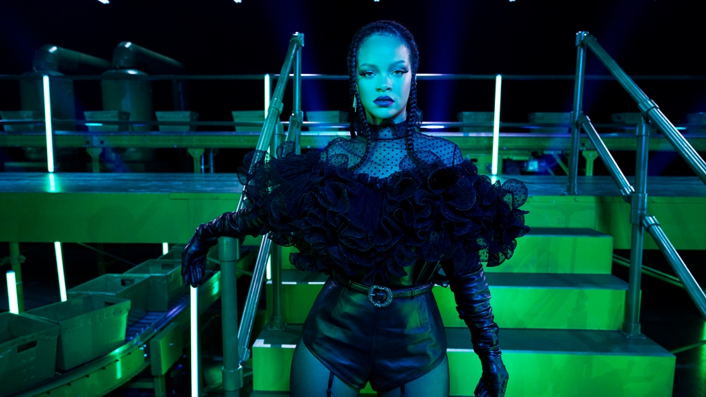 Rihanna feeling 'Savage' ahead of new fashion show