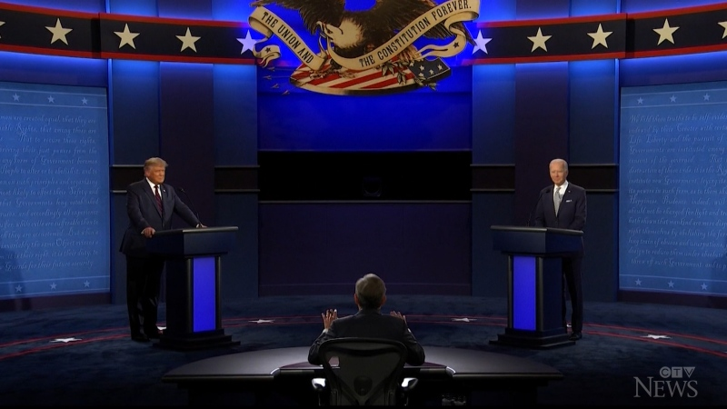 With both candidates talking over each other and exchanging insults, the first presidential debate was nothing less than chaotic.