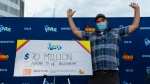 Adrian Olmstead, 44, of Blenheim, Ont. won the $70 million Lotto Max jackpot from the April 14 draw. (courtesy OLG)