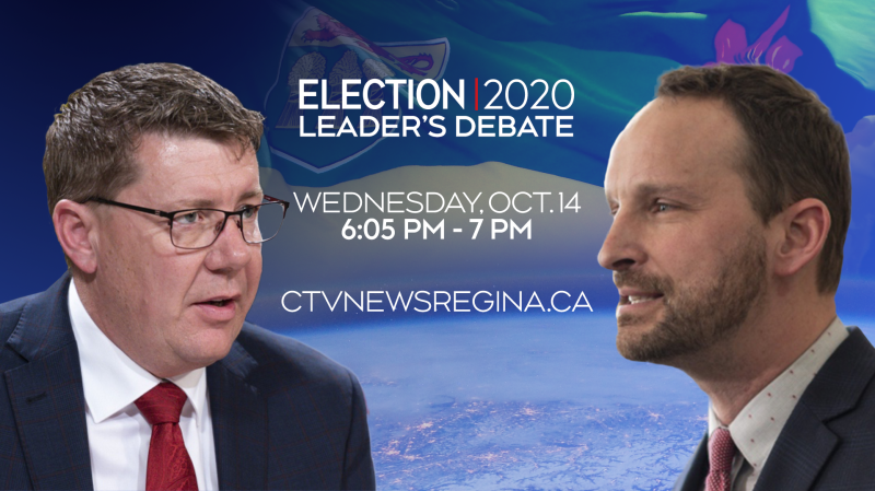 Saskatchewan Party leader Scott Moe and NDP leader Ryan Meili will debate on Oct.14.