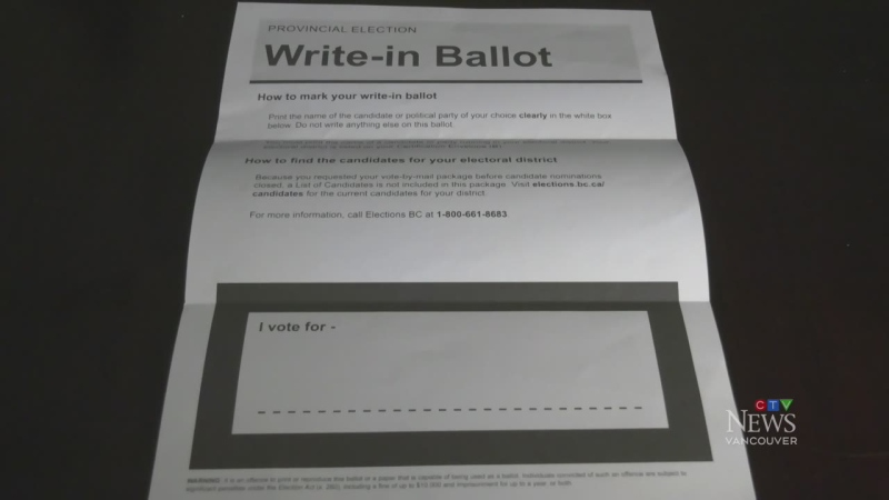 NDP raises questions about possible voter fraud