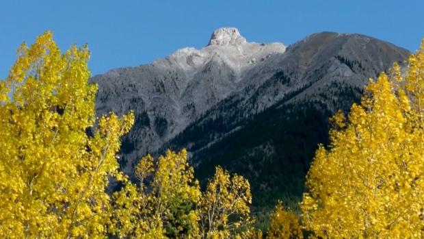 Mountain feature near Canmore, Alta. renamed Bald Eagle Peak