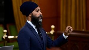 Singh blasts Trump's refusal to condemn Proud Boys