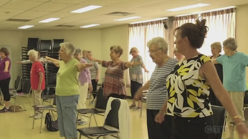New campaign aimed at getting seniors to stay on their feet.