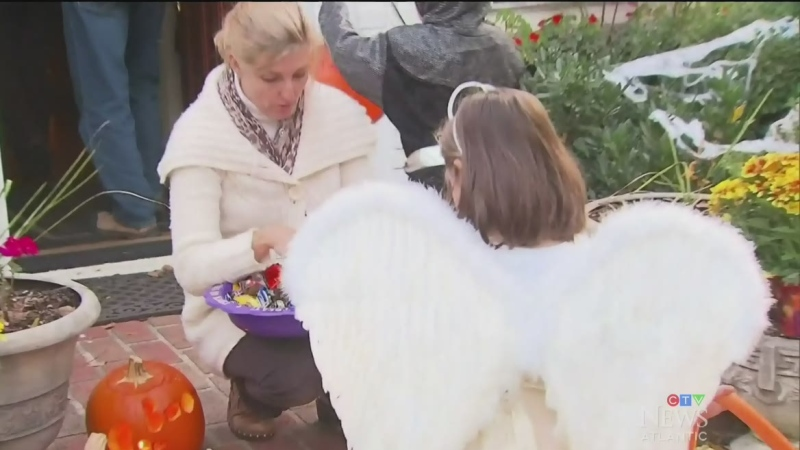 As COVID-19 cases climb in other parts of the country, some parents around here are making alternative plans for their children for Halloween.