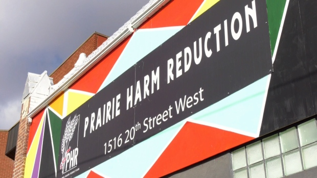 Prairie Harm Reduction's safe consumption site is pictured Sept. 30, 2020.