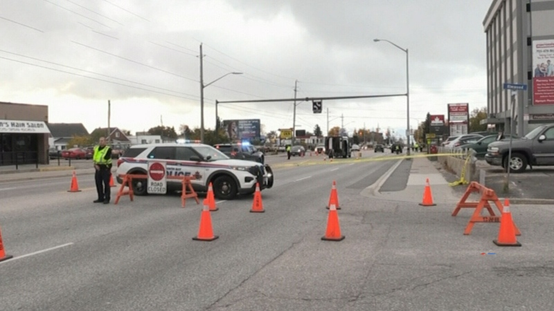 Pedestrian killed in North Bay