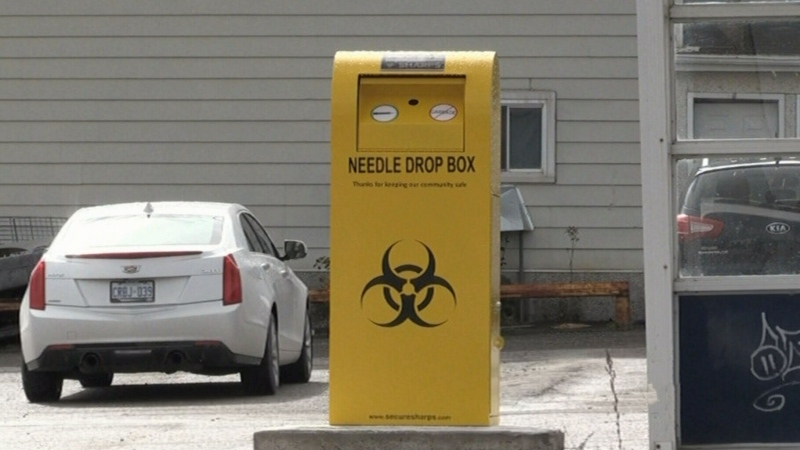 Timmins trying to deal with discarded needles