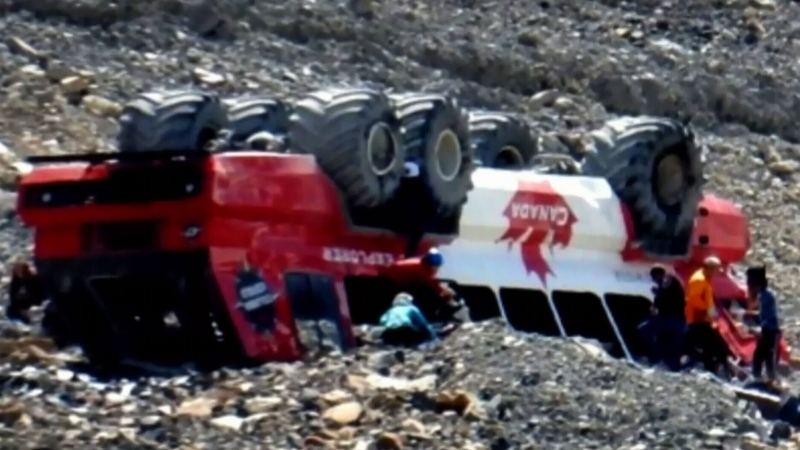 Icefield crash survivors seek $17M