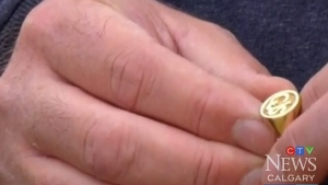 Ring lost for 25 years returned