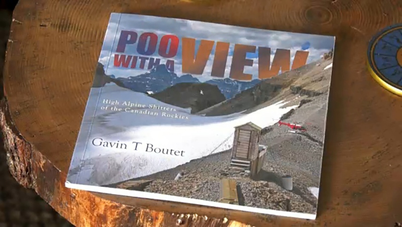 A Cochrane author has released a book of photos chronicling the outhouses of the Rockies