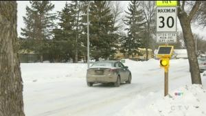 School warning lights offer may be proceeding