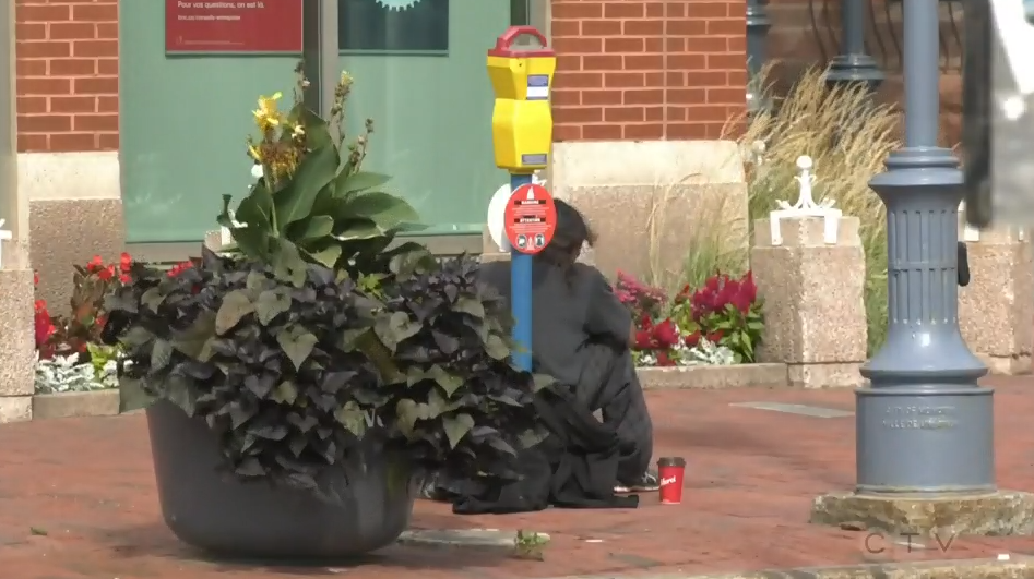 Moncton homeless