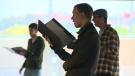 Choir practices in Waterloo