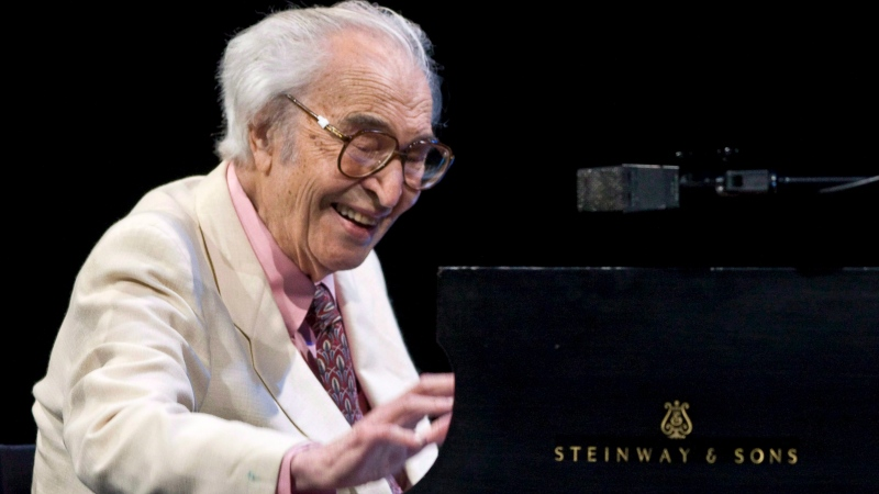 Jazz legend Dave Brubeck performs at the 30th edition of the Montreal International Jazz Festival in Montreal on July 4, 2009. THE CANADIAN PRESS/Paul Chiasson
