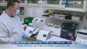 Rapid COVID test, school officers: Morning Live
