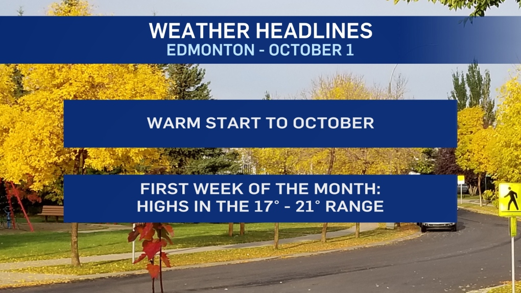 Oct. 1 weather headlines