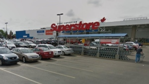 An employee at this Real Canadian Superstore at 4821 Calgary Trail NW was last at work on Sept. 26. (Source: Google Street View)
