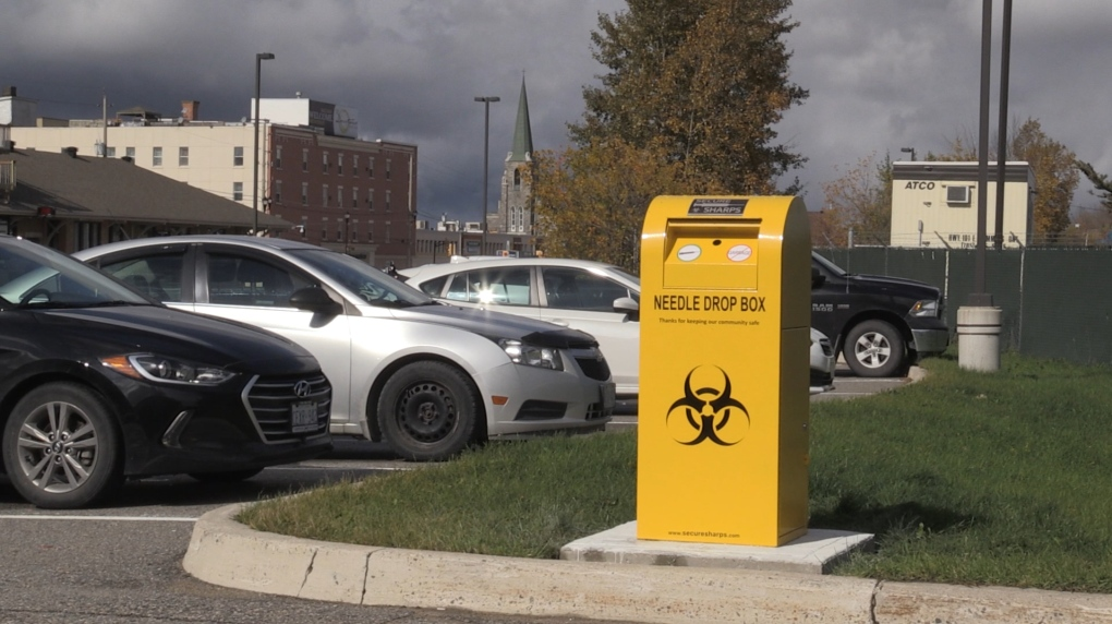 New needle drop box in Timmins