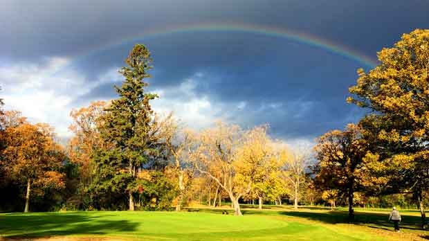 Today on Tuxedo golf course. Photo by BJ Johnstone.