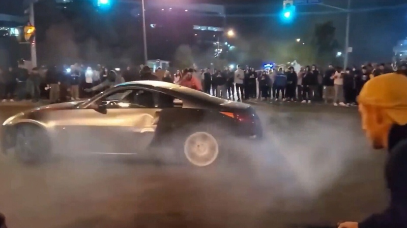 Peel Regional Police have made several arrests in connection with illegal street racing and stunt driving.