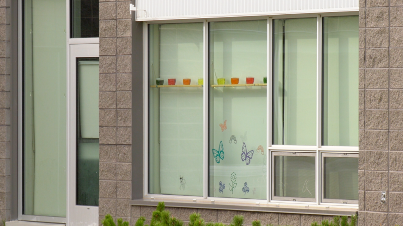 Preston Early Learning Centre was temporarily closed on after positive COVID-19 cases were discovered there. (Chad Hills/CTV News)