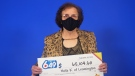 Haifa Kaspar of Leamington won a Lotto 6/49 prize. .(Courtesy OLG)
