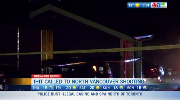 Shooting in North Vancouver