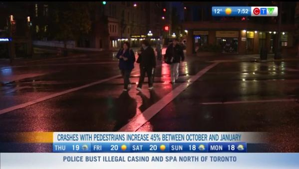 preventing crashes involving pedestrians