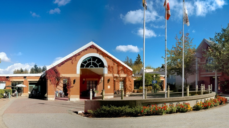 The George Derby Centre in Burnaby, B.C. is seen in an image from the long-term care home's Facebook page.