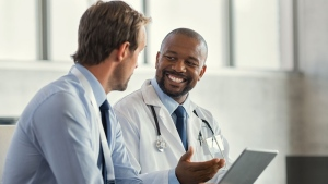 A physician with a stethoscope is seen speaking in this undated stock image. (iStock)