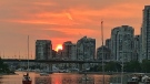 False Creek sunset in September 2020. (Diones Lago photo)