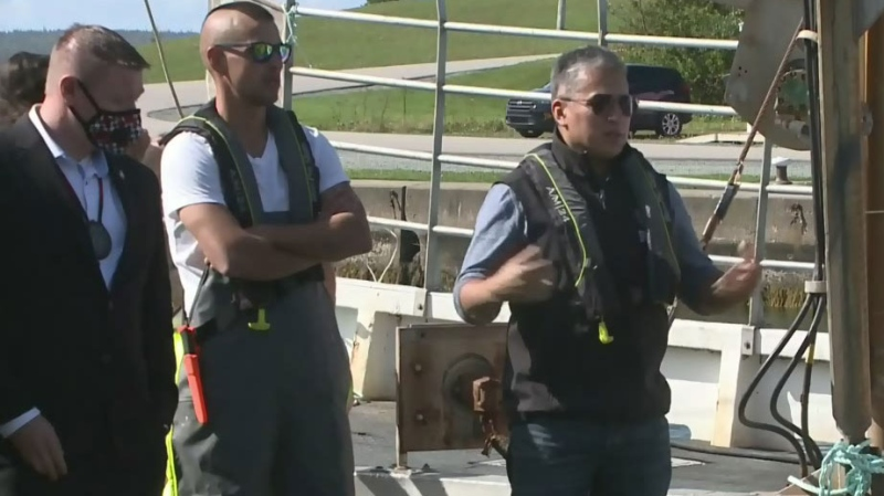 Potlotek First Nation launches lobster fishery
