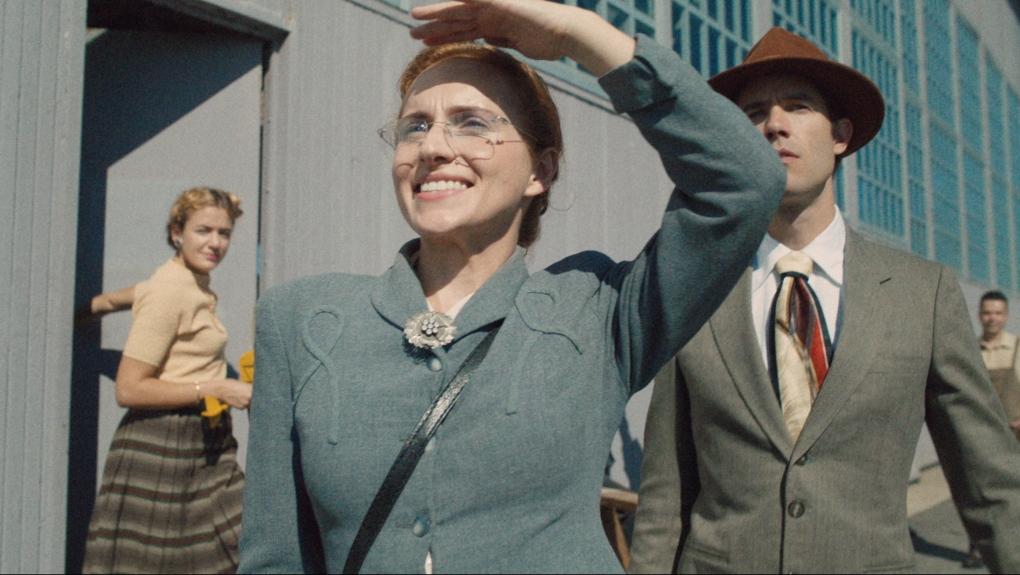 Actor Kayla Deorksen portrays Elsie MacGill