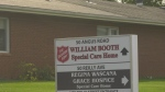 The William Booth Special Care Home in Regina has had a staff member test positive for COVID-19. (CTV News)