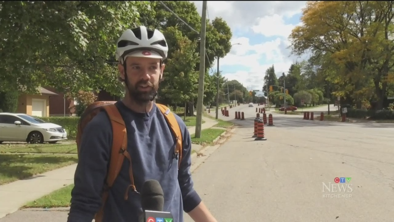 Mixed response to bike lane project