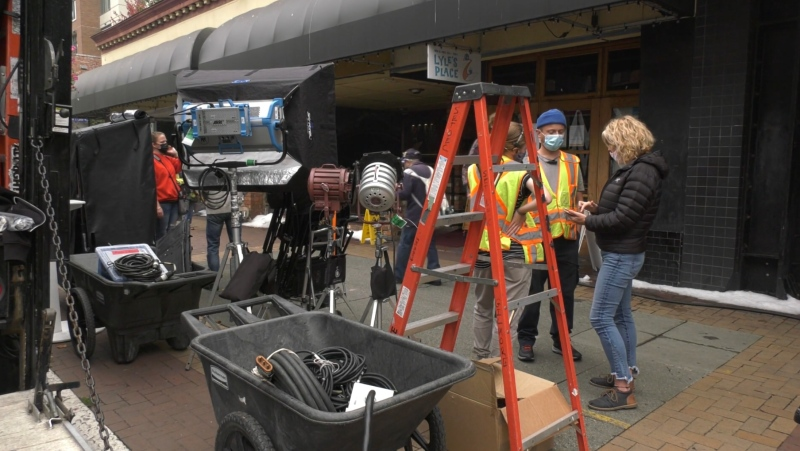 The film and TV industry is thriving on Vancouver Island amid the COVID-19 pandemic: (CTV News)